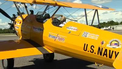 WATCH: Leesburg Pilot Honors WWII Veterans with Dream Flights