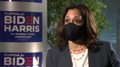 Exclusive: Kamala Harris sits down with Vanessa Echols to talk stimulus, health care and more