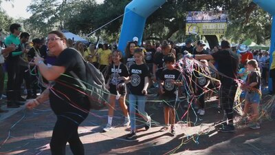 Step up for Down Syndrome: Annual walk builds community of families living with the disorder