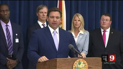 Video: 'Totally inappropriate': DeSantis pushes back after Orange County battalion chief fired