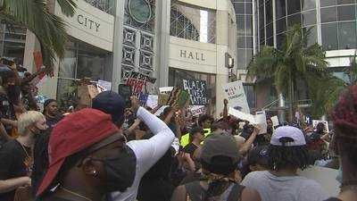 """Orlando activists plan rally against police violence with newly-signed """"anti-riot"""" law in effect"""