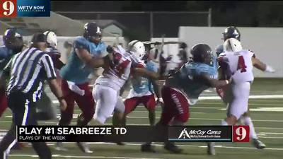 Three new Football Friday Night Play of the Week nominees for week 3