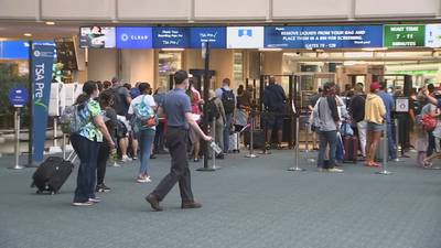 Labor Day travel kicks off at Orlando International Airport