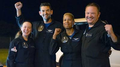 'Heck of a ride': SpaceX's Inspiration4 crew returns safely to Earth after historic mission