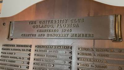 Video: 'Doing the right thing': University Club honoring community members previously denied entry for race, gender