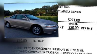 Melbourne woman charged hundreds after car she sold years ago was towed