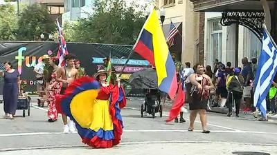Hundreds gather for Florida Puerto Rican Parade & Festival in downtown Orlando