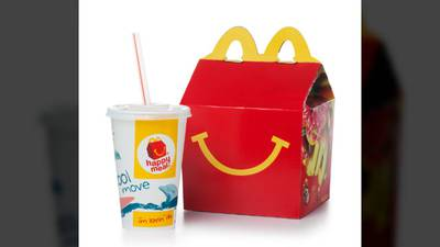 McDonald's to reduce plastic in Happy Meal toys