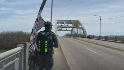 'I don't give up': Orlando teen retraces history walking 54 miles from Selma to Montgomery, Alabama