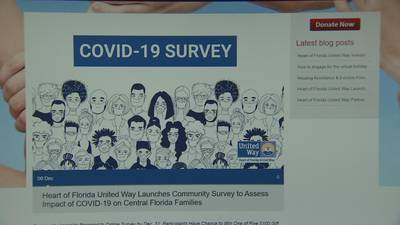 VIDEO: The United Way invites Central Florida residents to sound off on the pandemic