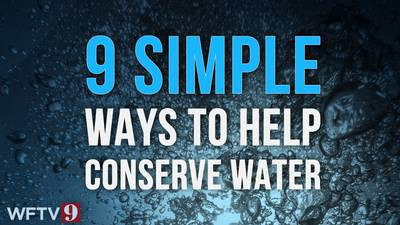See: 9 simple ways to help conserve water