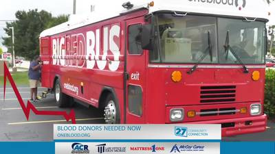 Blood Donors Needed Now
